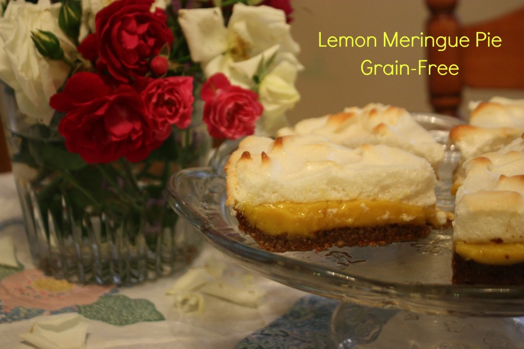 Grain Free Lemon Meringue Pie