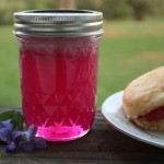 Homemade Violet Jelly