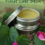 Violet Leaf Balm