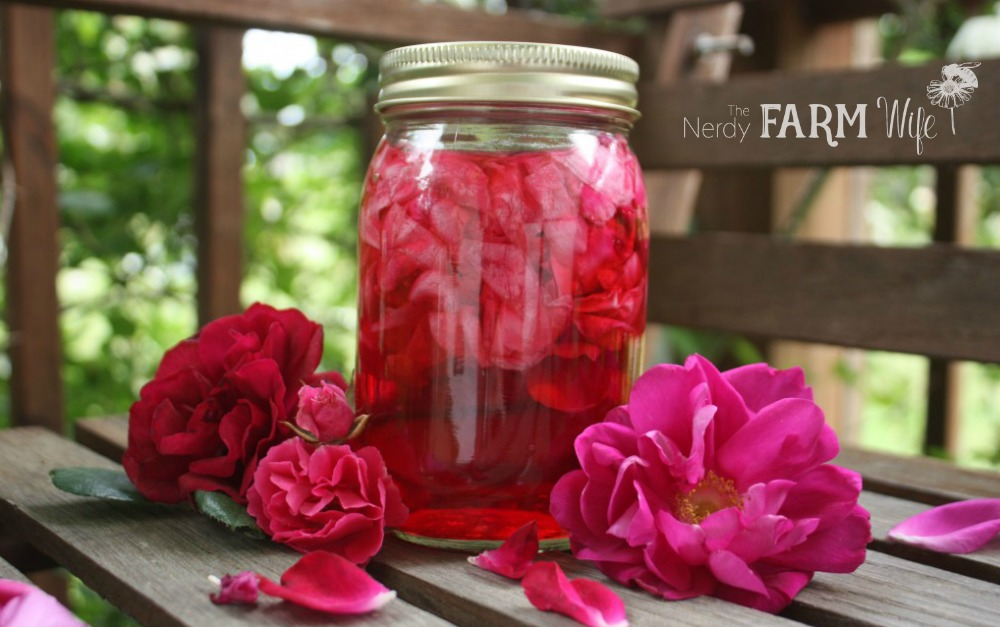 7 Uses for Rose Petal Vinegar