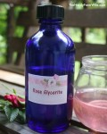 Rose Glycerite for Calming Nerves