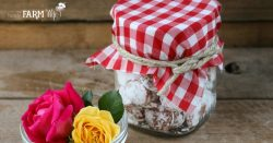 rose petal peppermint drops