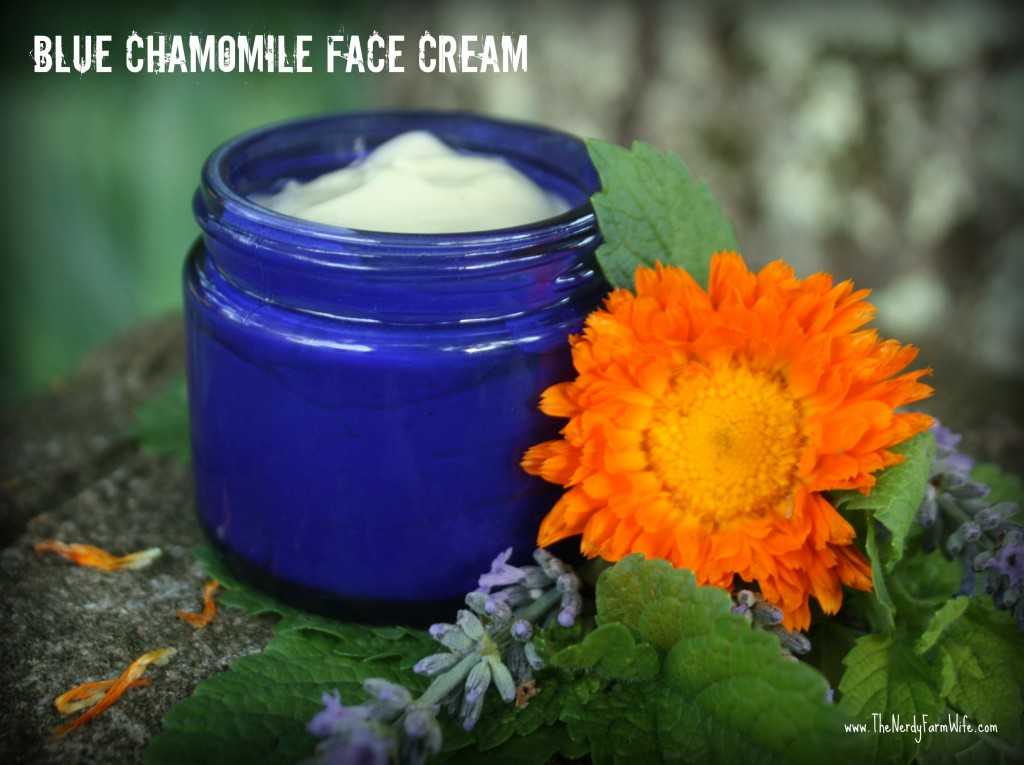 blue chamomile face cream