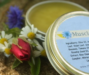 Muscle Balm in Etsy Shop