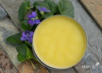 How to Make Violet Leaf Balm