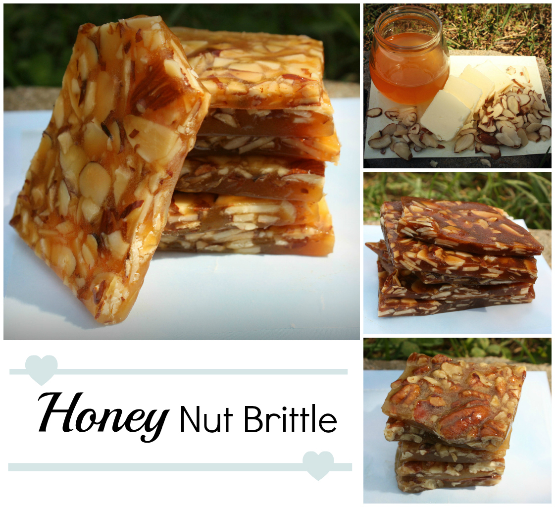 Honey Nut Brittle Candy