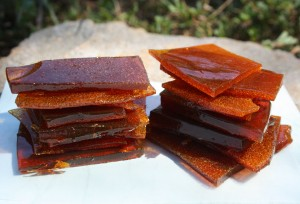 honey and vinegar candy