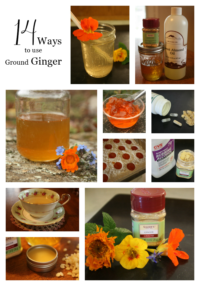 14 ways to use ground ginger