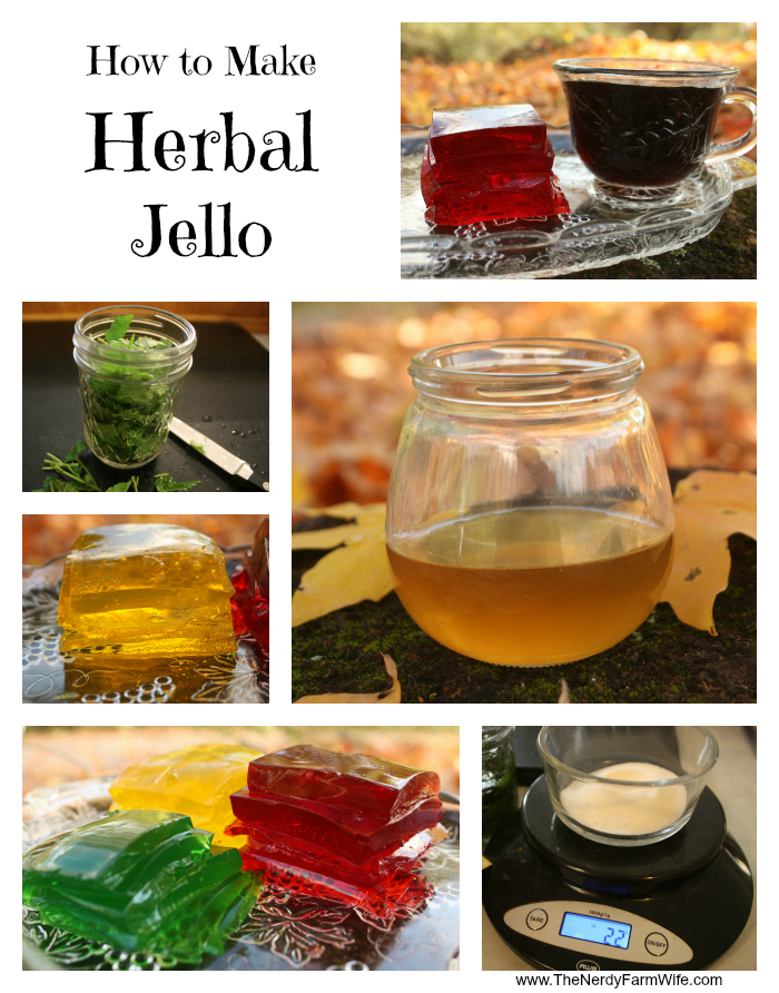 How to Make Herbal Jello