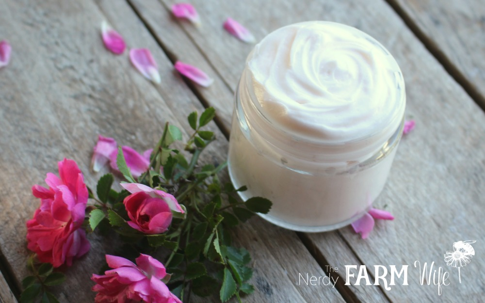 rose infused face cream