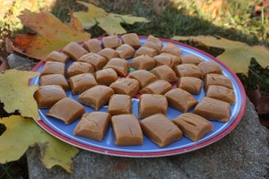 Nutty Caramels SCD legal nut butter and honey candy