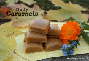 SCD legal caramels made with nut butter and honey