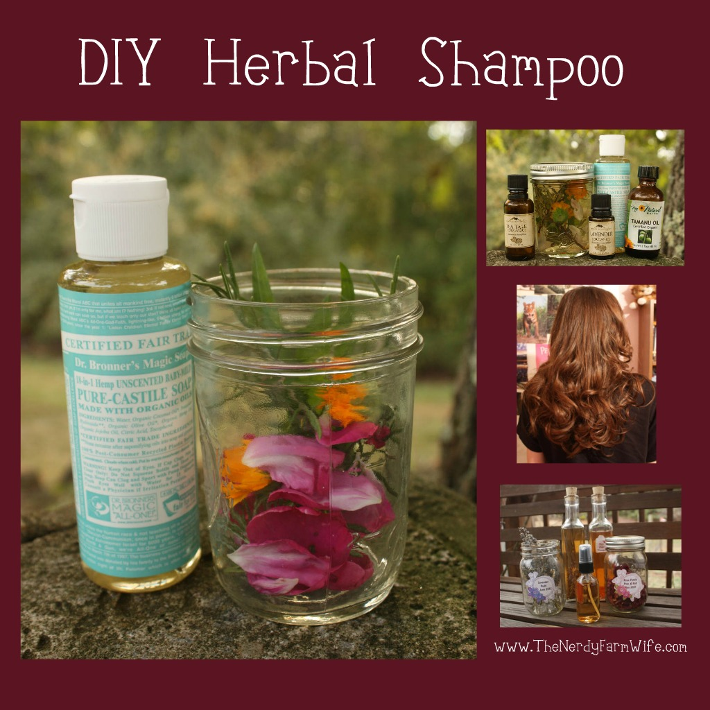 Diy Natural Shampoo For Curly Hair