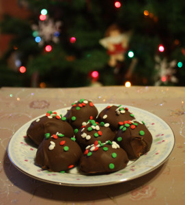 Home made Reese Peanut Butter Balls