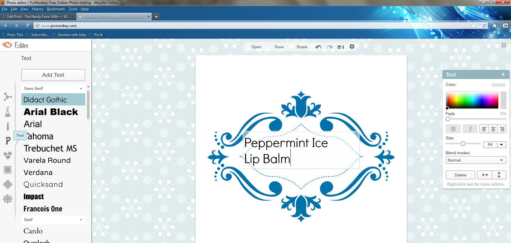 Lip Balm Label Template Free Trattorialeondoro - Lip balm label template