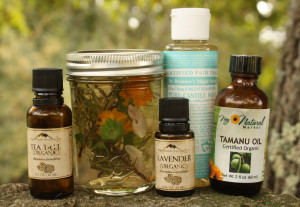 Homemade Herbal Shampoo Ingredients