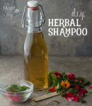 How to Make Your Own DIY Herbal Shampoo