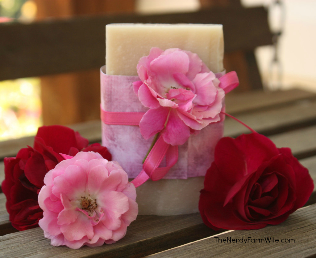 Rosa Rugosa Handmade Soap from Roses