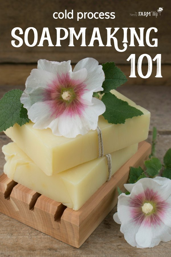 Soapmaking 101 - Cold Process Soap: This in-depth tutorial teaches you how to make soap from scratch.