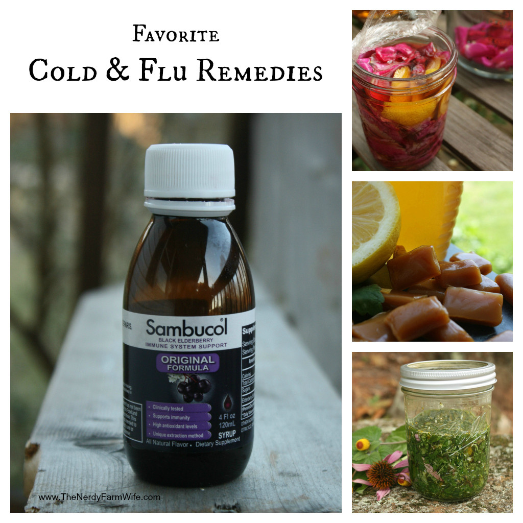favorite cold and flu remedies
