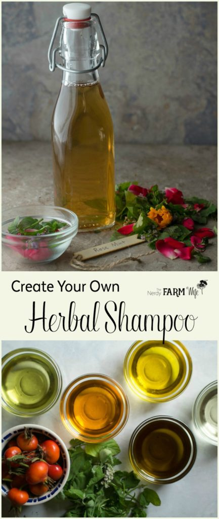 How to Make Your Own Homemade Herbal Shampoo