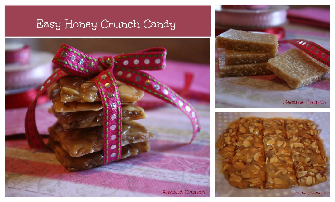 Easy Honey Crunch Candy Recipe