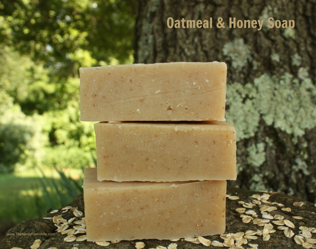 Oatmeal and Honey Soap