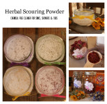 Herbal Scouring Powder Recipe Chemical Free Cleaner