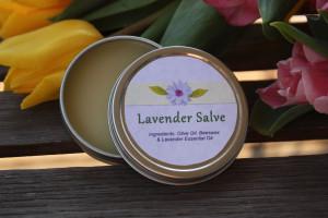 Handmade Lavender Salve