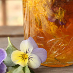 Spring Tonic Honey with Violets and Dandelions