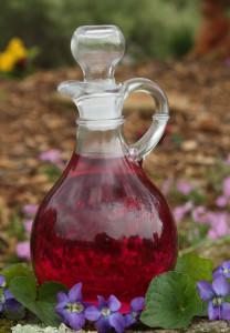 Wild Violet Vinegar