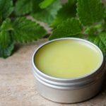 a tin of cold sores lip balm