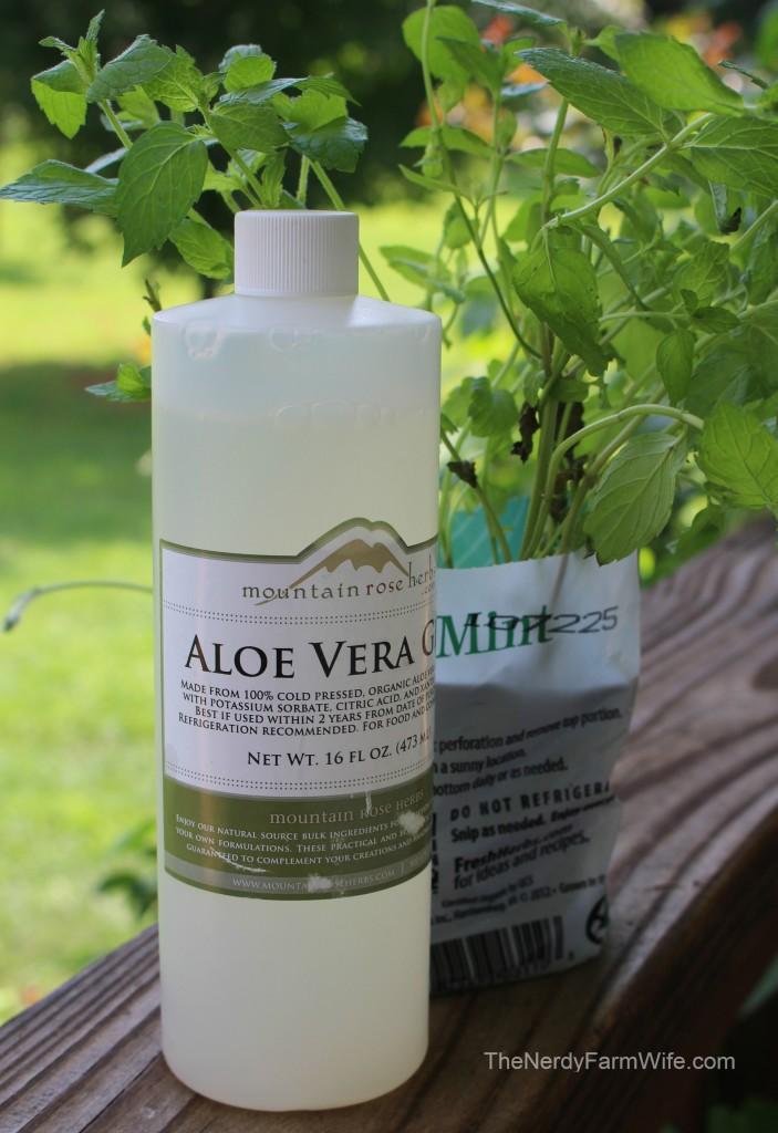 Aloe Vera & Mint
