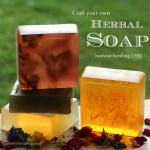 Make your own herbal soap without handling lye