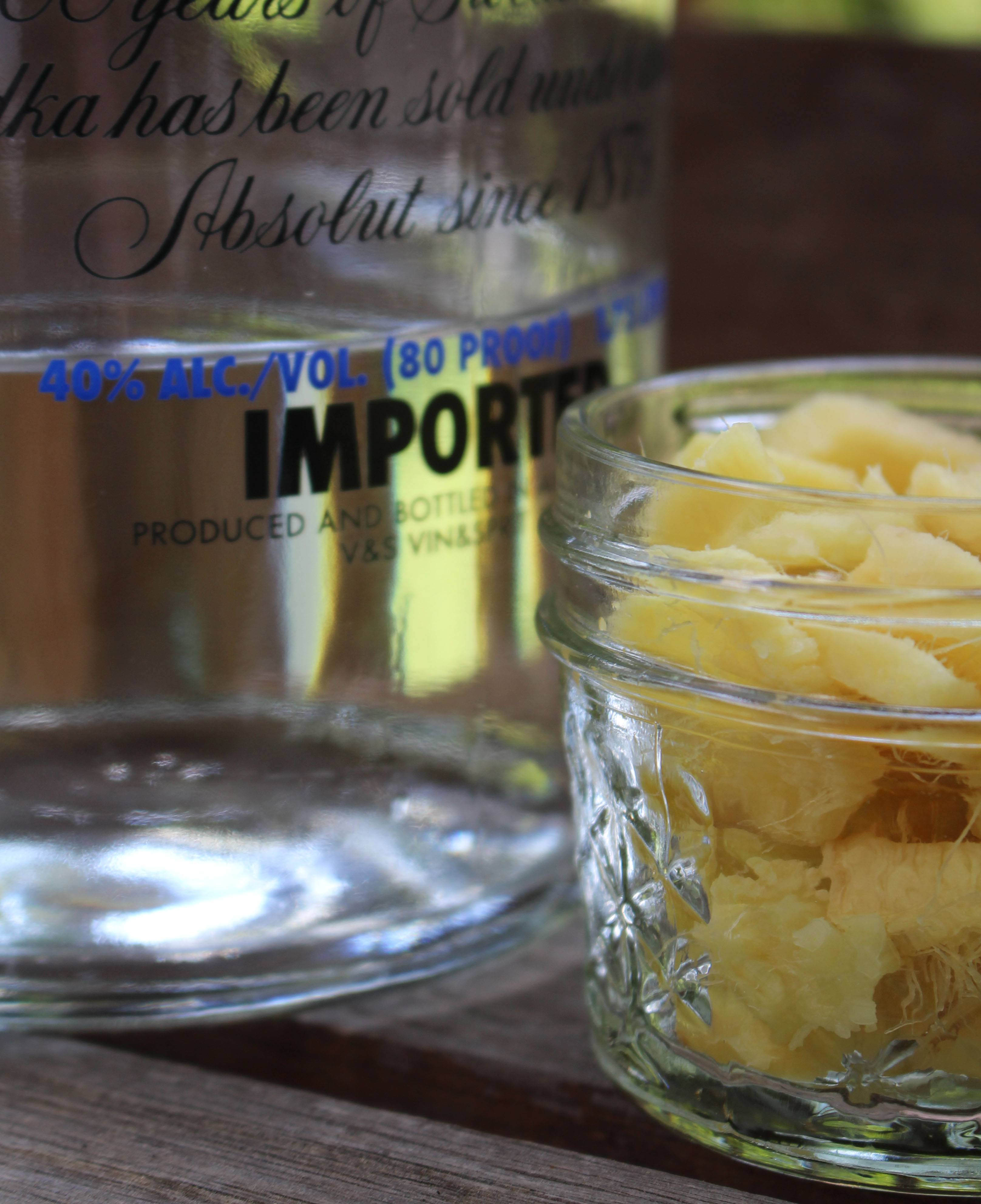 How to Make a Ginger Tincture