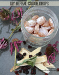 DIY Herbal Cough Drops - design your own cough drops!