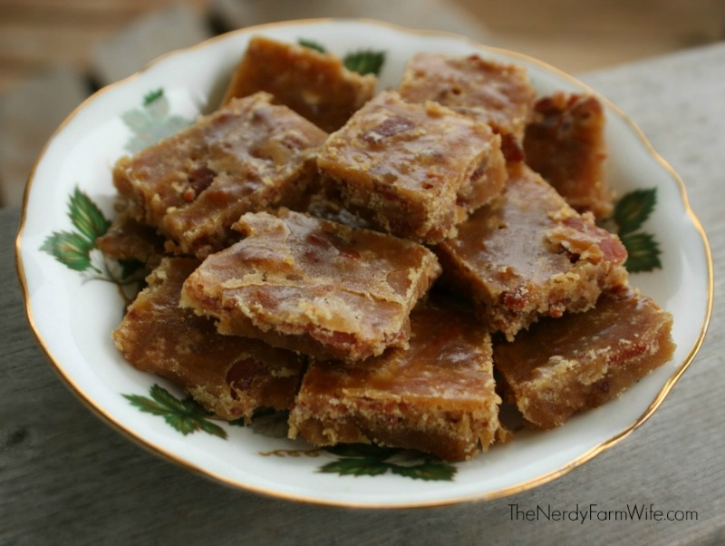 Recipe for Maple Bacon Candy