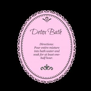 Detox Bath Pink
