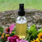 DIY Herbal Throat Spray