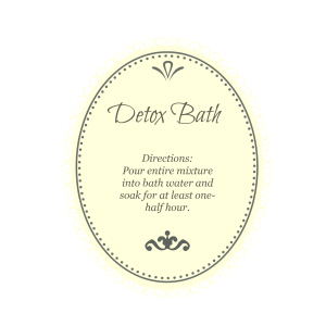 detox bath cream