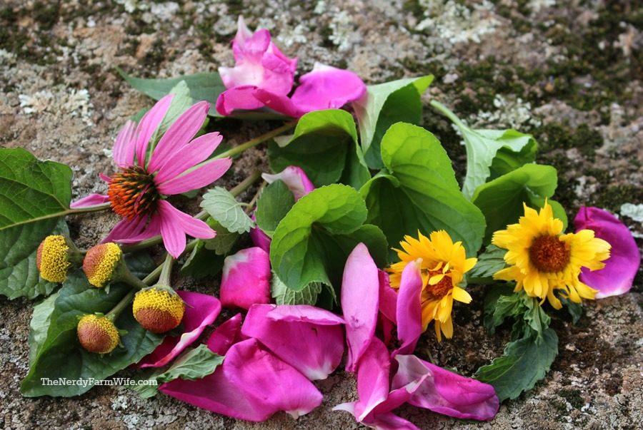 herbs for throat spray