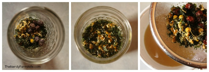 Steps to Infusing Herbal Broth