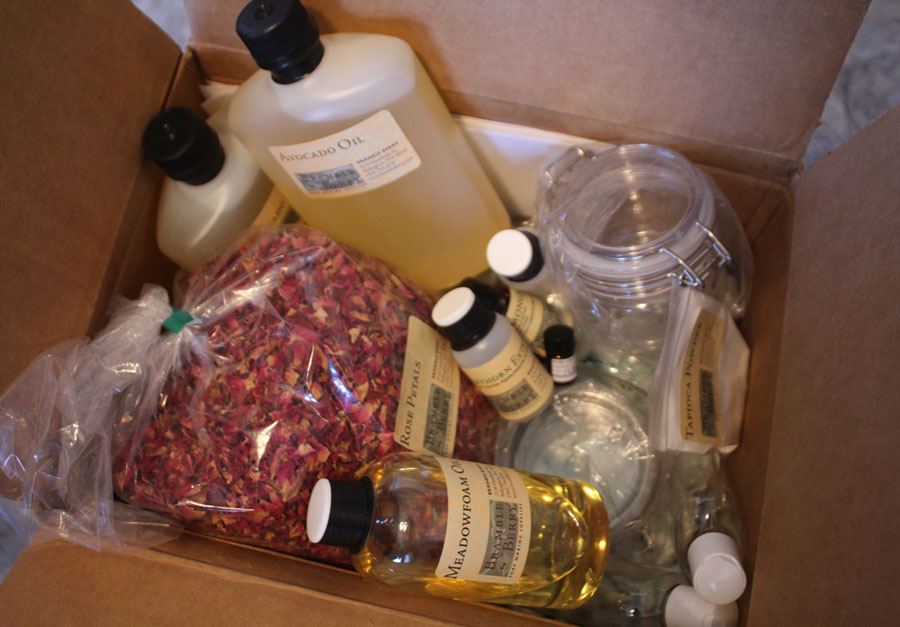 Box of Goodies from Bramble Berry