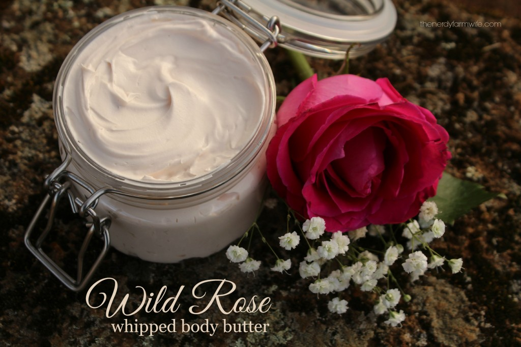 Wild Rose Whipped Body Butter Tutorial