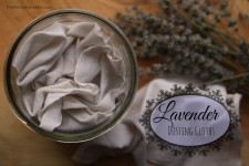 How to Make Non-Toxic Lavender Dusting Cloths