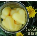 Dandelion Lotion Bars