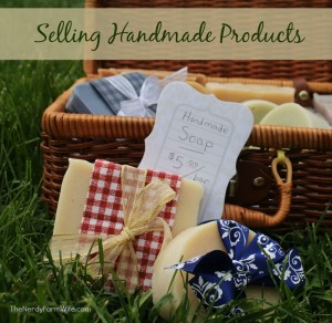 Selling Handmade Products FAQS Series