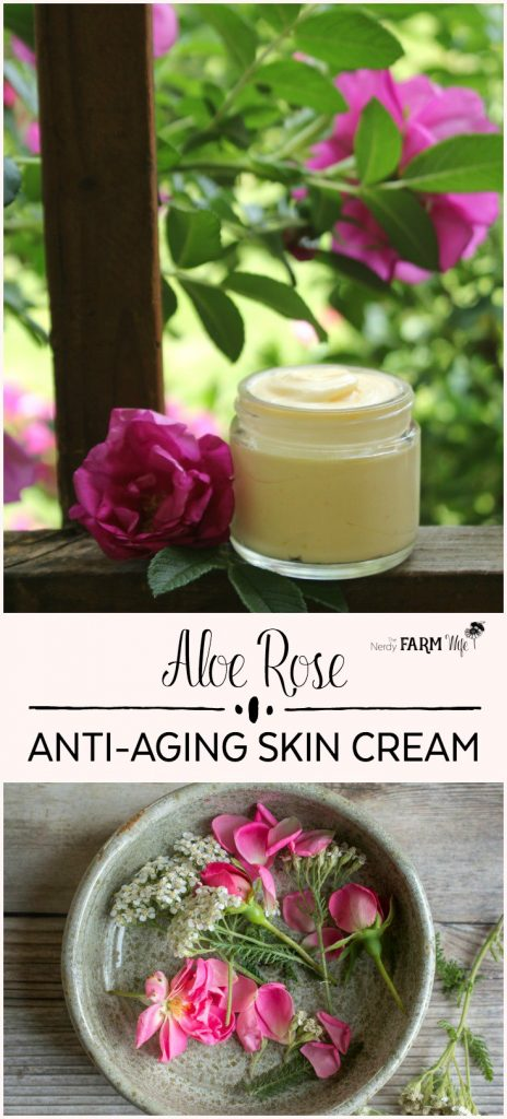 Aloe Rose Anti-Aging Skin Cream Recipe