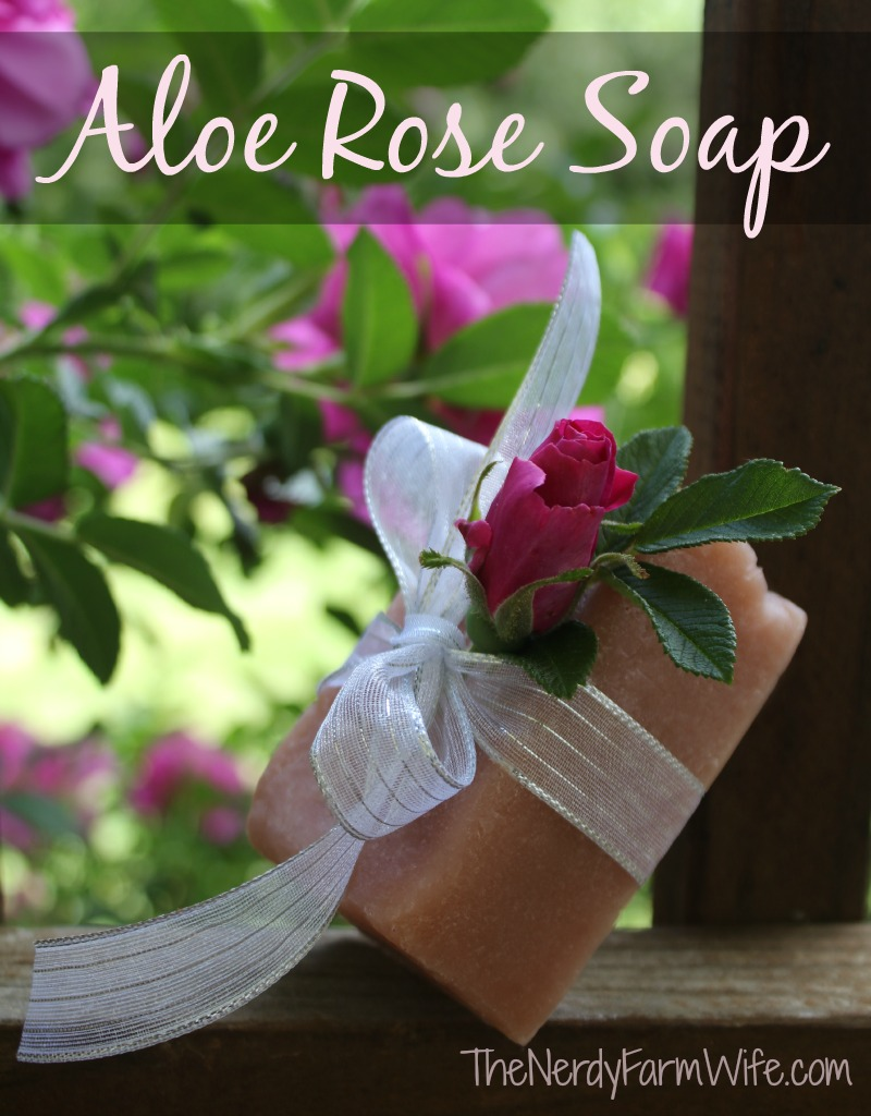 Aloe Rose Palm Free Cold Process Soap Recipe