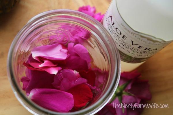 aloe rose skin soother ingredients